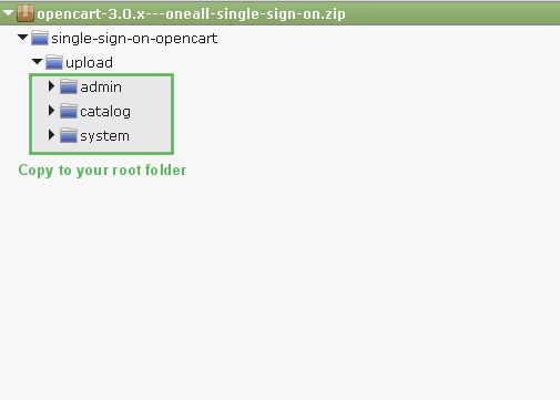 OpenCart 3.x : Upload Single Sign-On