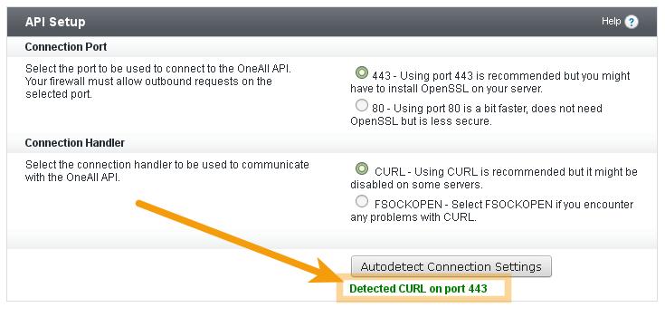 Autodetect vBulletin API Connection