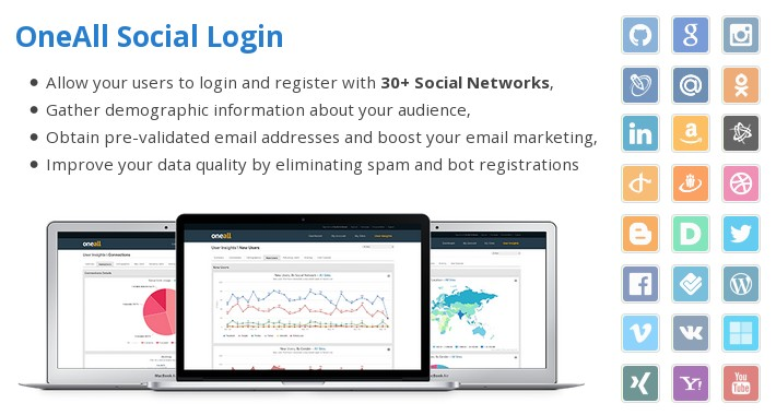 OneAll Social Login 3 7 0 — Vanilla Forums